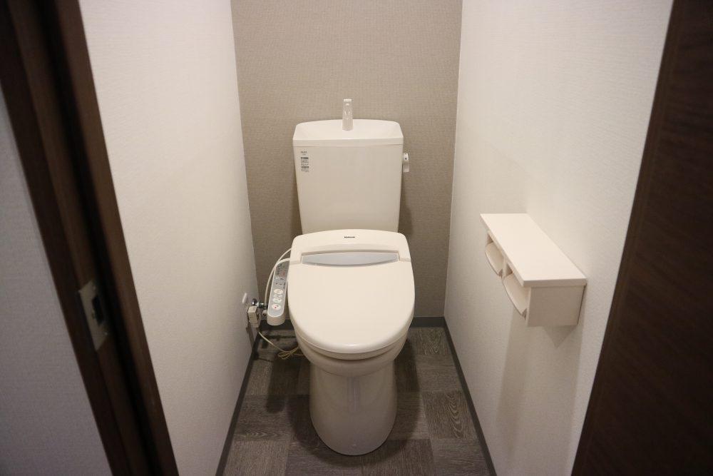 ウォシュレット付トイレ♪