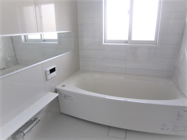 ゆったりできる浴室