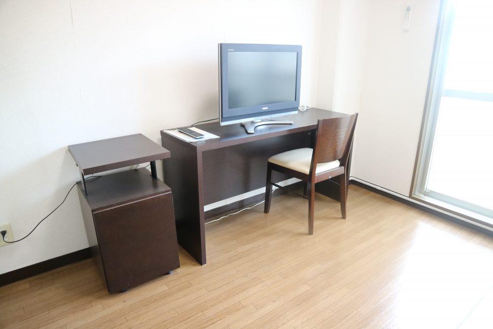 家具付きのお部屋もあります(家具付:月額2000円)