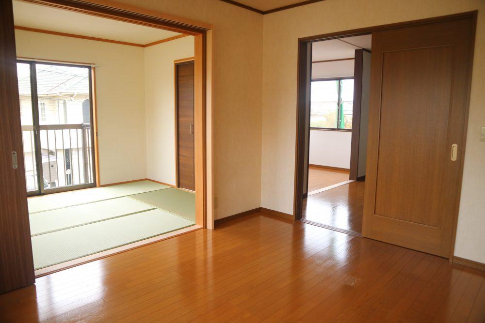 各居室はつながっていますので、とても使いやすいです(^^)/