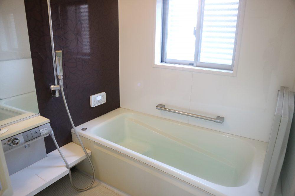 ゆったり疲れが取れる浴室