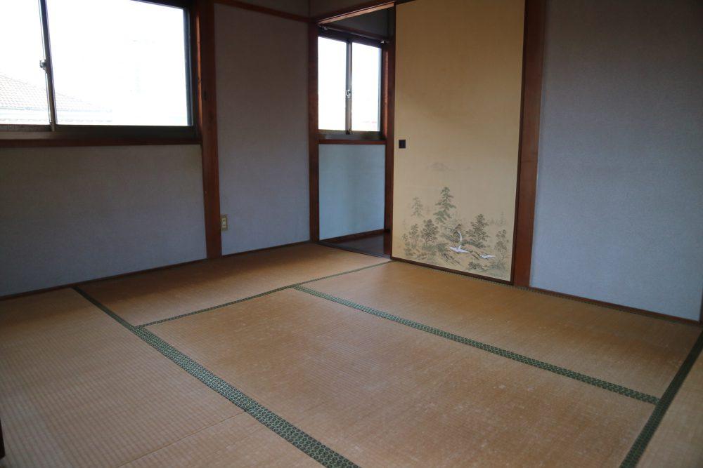 2階の和室部屋。
