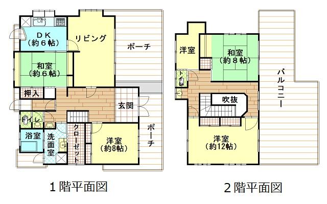 土地:486.54㎡(約147.17坪)建物:191.44㎡(約57.91坪)5SLDK