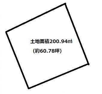 土地面積200.94㎡、約60.78坪