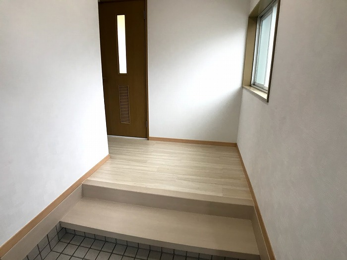 玄関:ゆとりがあって、とても使いやすいです。