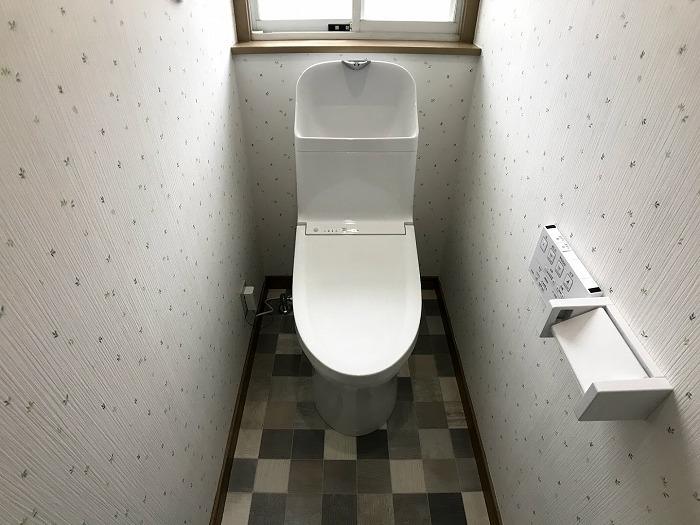 トイレ:新品ピカピカです♪