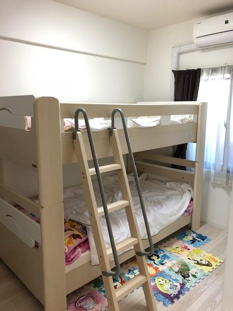 約5帖の洋室では、お子様の部屋に最適です♪