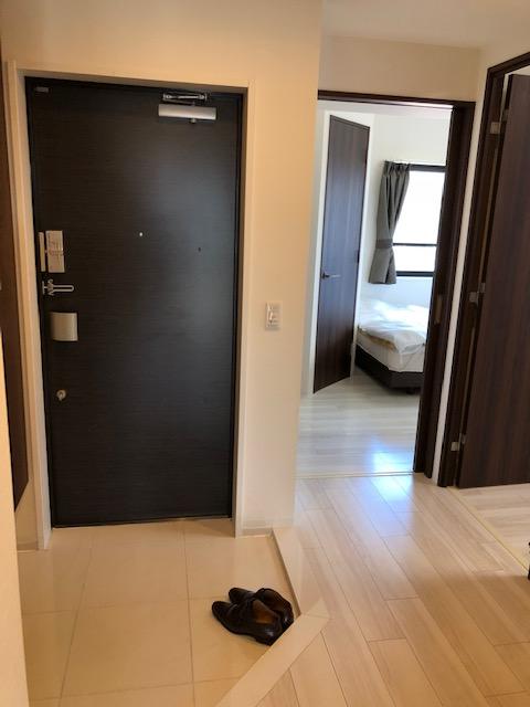 清潔感溢れる玄関がお出迎えします。ここから始まる日常を期待させます(^^)