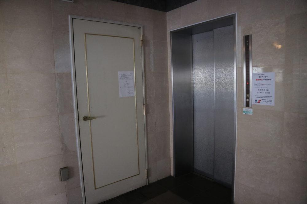 エレベーター付きで安心です。