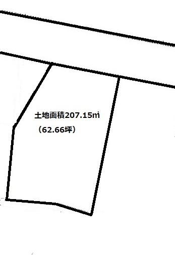 土地面積207.15㎡(62.66坪)