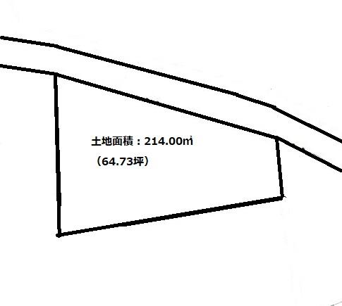 土地面積:214.00㎡(64.73坪)