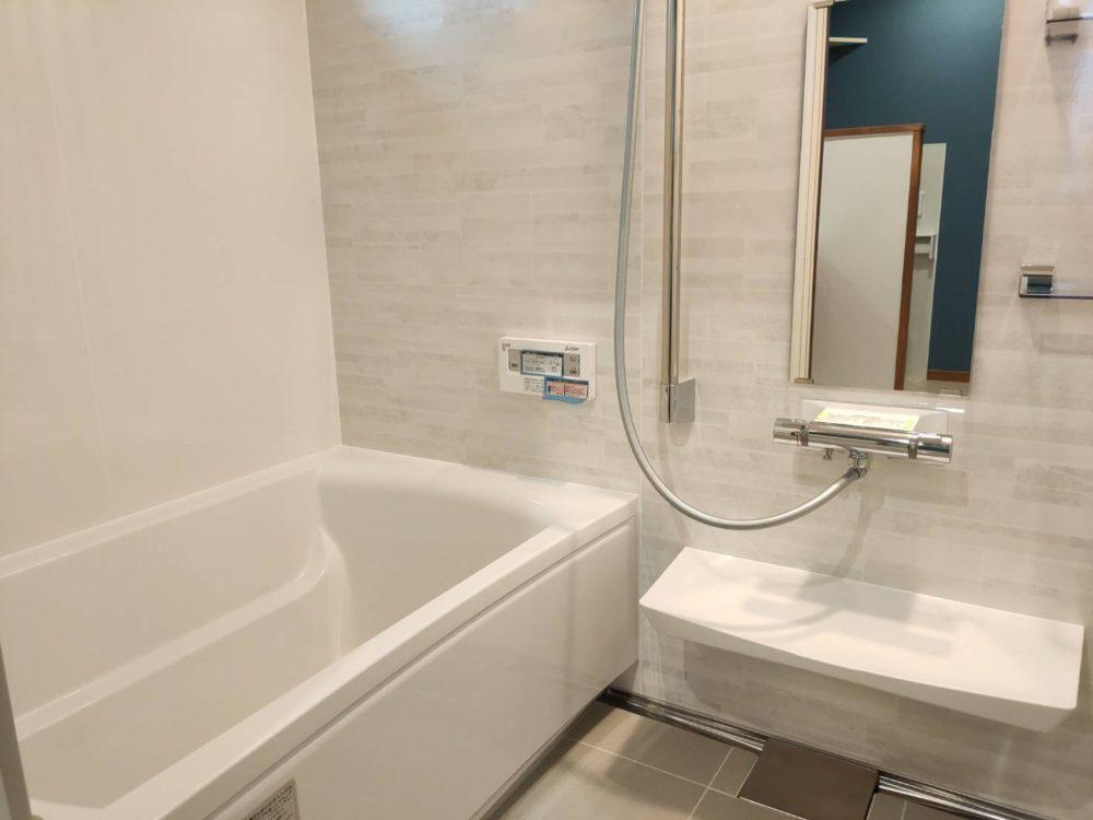 ゆったりとした浴室で、1日の疲れがとれますね(^^)/