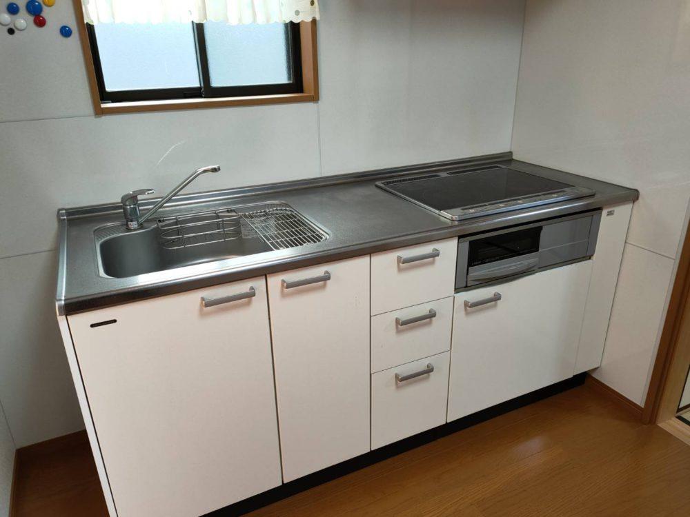 IHヒーター付きキッチンです。