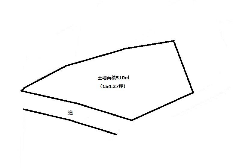 敷地510㎡(154.27坪)