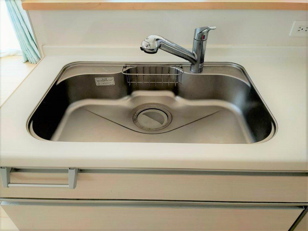 シングルレバー水栓/ステンレスシンク