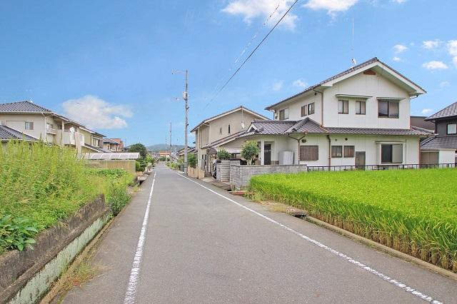 自然豊か、緑の多い閑静な住宅街です♪